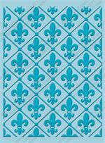 Fleur De Lis in Diamond pattern